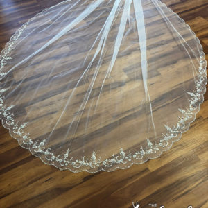 Beaded Cathedral Veil